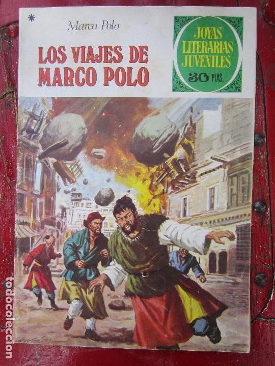JOYAS LITERARIAS JUVENILES , N.166 , LOS VIAJES DE MARCO POLO , BRUGUERA 1978 (Tebeos y Comics - Bruguera - Joyas Literarias)