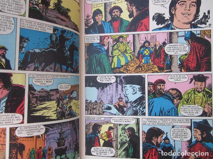 Tebeos: joyas literarias juveniles , n.166 , los viajes de marco polo , bruguera 1978 - Foto 2 - 86885840