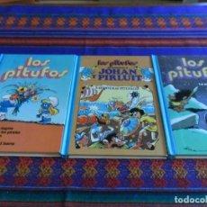 Tebeos: SUPER HUMOR LOS PITUFOS JOHAN Y PIRLUIT NºS 1, 2 Y 4. BRUGUERA 1983. BUEN ESTADO Y RAROS.. Lote 86919468