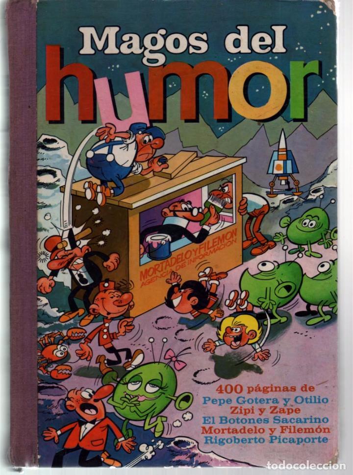 MAGOS DEL HUMOR. VOLUMEN VI 400 PAGINAS 1972 (Tebeos y Comics - Bruguera - Otros)