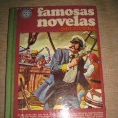 Tebeos: FAMOSAS NOVELAS - TOMO VII - EDITA : BRUGUERA. Lote 87092104