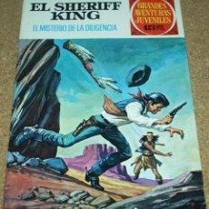 Tebeos: EL SHERIFF KING Nº 42 -1ª EDICIÓN 1973 - MUY BUEN ESTADO. Lote 87330336