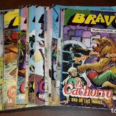 Tebeos: EL CACHORRO. BRAVO. NÚMEROS 1 AL 37 (FALTAN 4 PARA LA COLECCIÓN COMPLETA) EDITORIAL BRUGUERA.. Lote 87368844
