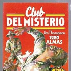 Tebeos: CLUB DEL MISTERIO. Nº 11. 1280 ALMAS. JIM THOMPSON. EDITORIAL BRUGUERA. Lote 87495048