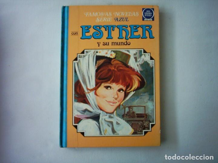 FAMOSAS NOVELAS SERIE AZUL CON ESTHER Y SU MUNDO. 4. 2ª EDICIÓN. 1982. (Tebeos y Comics - Bruguera - Esther)