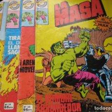 Tebeos: LA MASA, Nº 12,14,19, 30, BRUGUERA, 1982. Lote 87549692