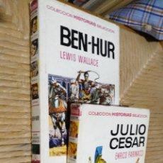 Tebeos: COLECCION HISTORIAS SELECCION - 2 TOMOS BRUGUERA.. Lote 87701304