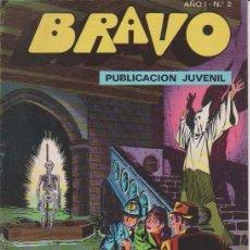 Tebeos: BRAVO INSPECTOR DAN AÑO 1976 LOTE DE 36 TEBEOS ORIGINALES DIBUJANTE EUGENIO GINER EDITORIAL BRUGUERA. Lote 88088508