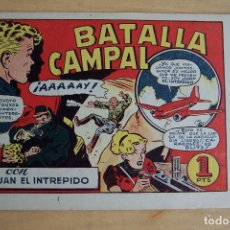Tebeos: BRUGUERA, JUAN EL INTRÉPIDO Nº 2 BATALLA CAMPAL . Lote 88113360