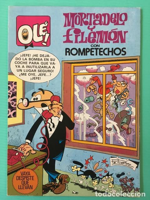 COLECCIÓN OLÉ 251 - MORTADELO Y FILEMÓN - 1ª EDICIÓN 1982 - MUY BUEN ESTADO (Tebeos y Comics - Bruguera - Ole)