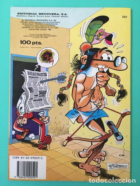Tebeos: Colección Olé 251 - Mortadelo y Filemón - 1ª edición 1982 - Muy buen estado - Foto 2 - 88257588