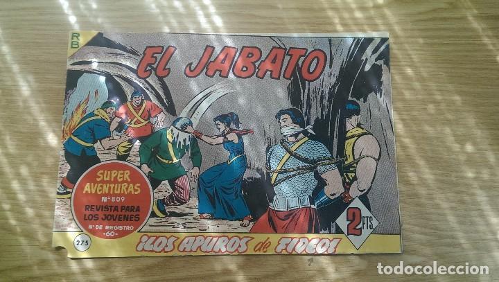 EL JABATO Nº 275 «LOS APUROS DE FIDEO» (Tebeos y Comics - Bruguera - Jabato)