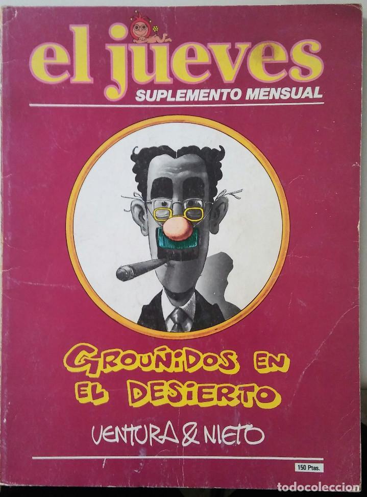 EL JUEVES SUPLEMENTO MENSUAL. GRUÑIDOS EN EL DESIERTO. VENTURA & NIETO. 1980. (Tebeos y Comics - Bruguera - Cuadernillos Varios)