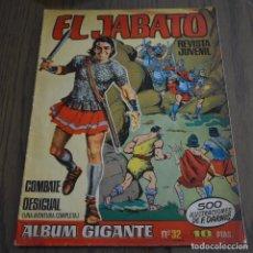 Tebeos: EL JABATO, ALBUM GIGANTE, Nº 32. LITERACOMIC.. Lote 88748296