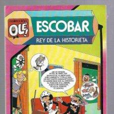 Tebeos: COLECCION OLE!. ESCOBAR. REY DE LA HISTORIETA. 297. EDITORIAL BRUGUERA. 1984. Lote 88957776