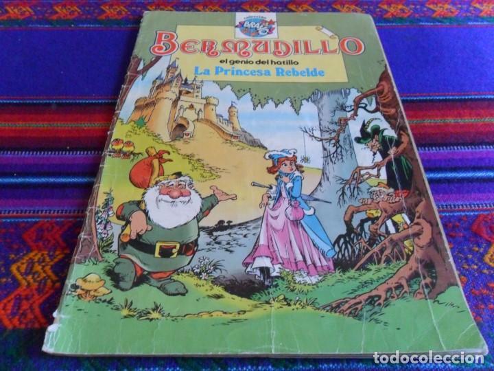 COLECCIÓN BRAVO BERMUDILLO EL GENIO DEL HATILLO Nº 1 LA PRINCESA REBELDE. BRUGUERA 1982. 100 PTS. (Tebeos y Comics - Bruguera - Bravo)
