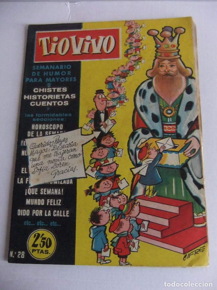 TIO VIVO Nº 28 1ª EPOCA EDITORIAL CRISOL (Tebeos y Comics - Bruguera - Tio Vivo)