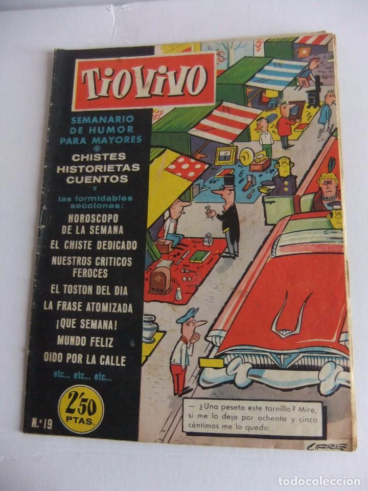TIO VIVO Nº 19 1ª EPOCA EDITORIAL CRISOL (Tebeos y Comics - Bruguera - Tio Vivo)