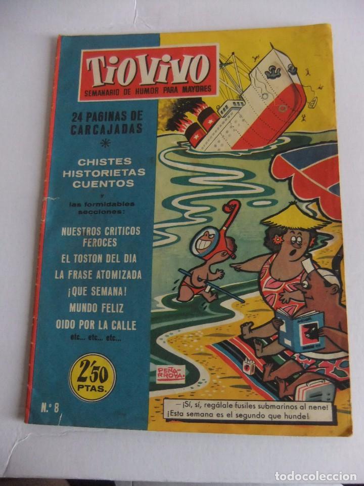 TIO VIVO Nº 8 1ª EPOCA EDITORIAL CRISOL (Tebeos y Comics - Bruguera - Tio Vivo)