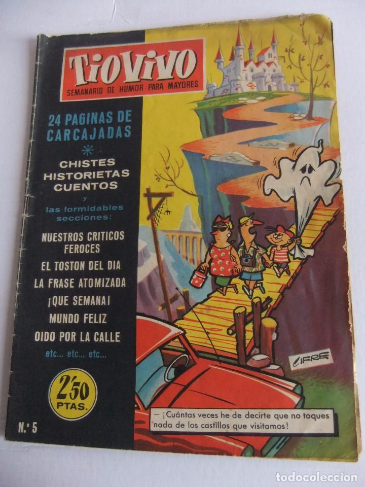 TIO VIVO Nº 5 1ª EPOCA EDITORIAL CRISOL (Tebeos y Comics - Bruguera - Tio Vivo)