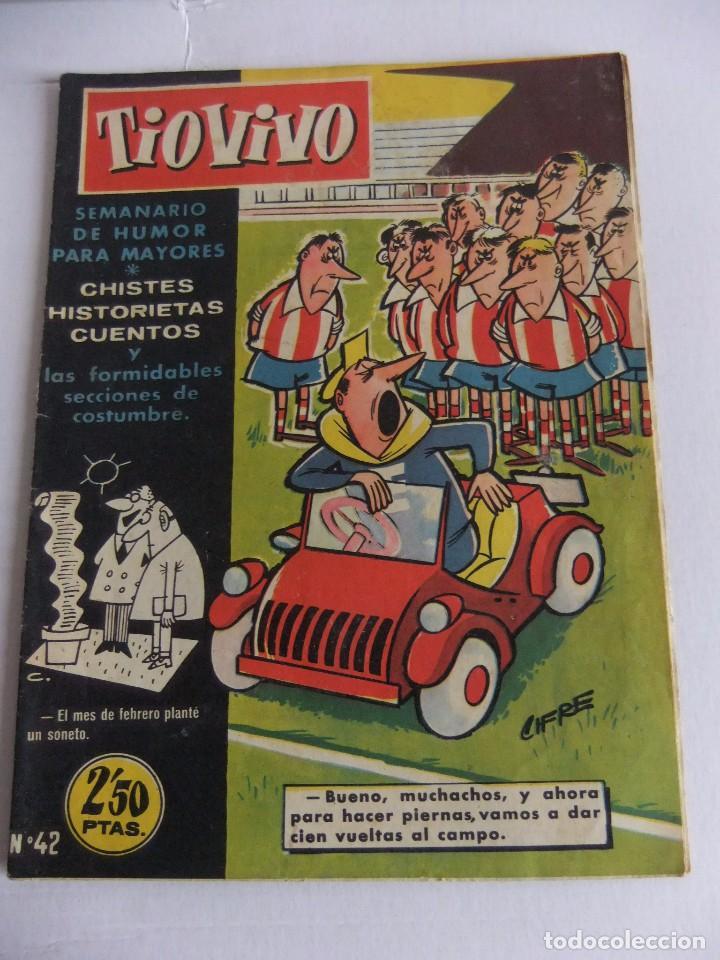 TIO VIVO Nº 42 1ª EPOCA EDITORIAL CRISOL (Tebeos y Comics - Bruguera - Tio Vivo)
