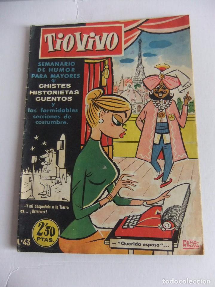 TIO VIVO Nº 43 1ª EPOCA EDITORIAL CRISOL (Tebeos y Comics - Bruguera - Tio Vivo)