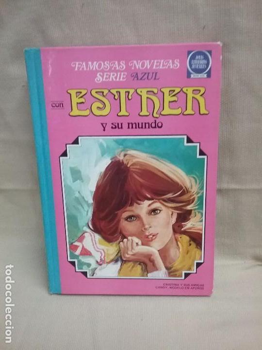 FAMOSAS NOVELAS SERIE AZUL CON ESTHER Y SU MUNDO - JOYAS LITERARIAS JUVENILES - TOMO 3 - BRUGUERA (Tebeos y Comics - Bruguera - Esther)