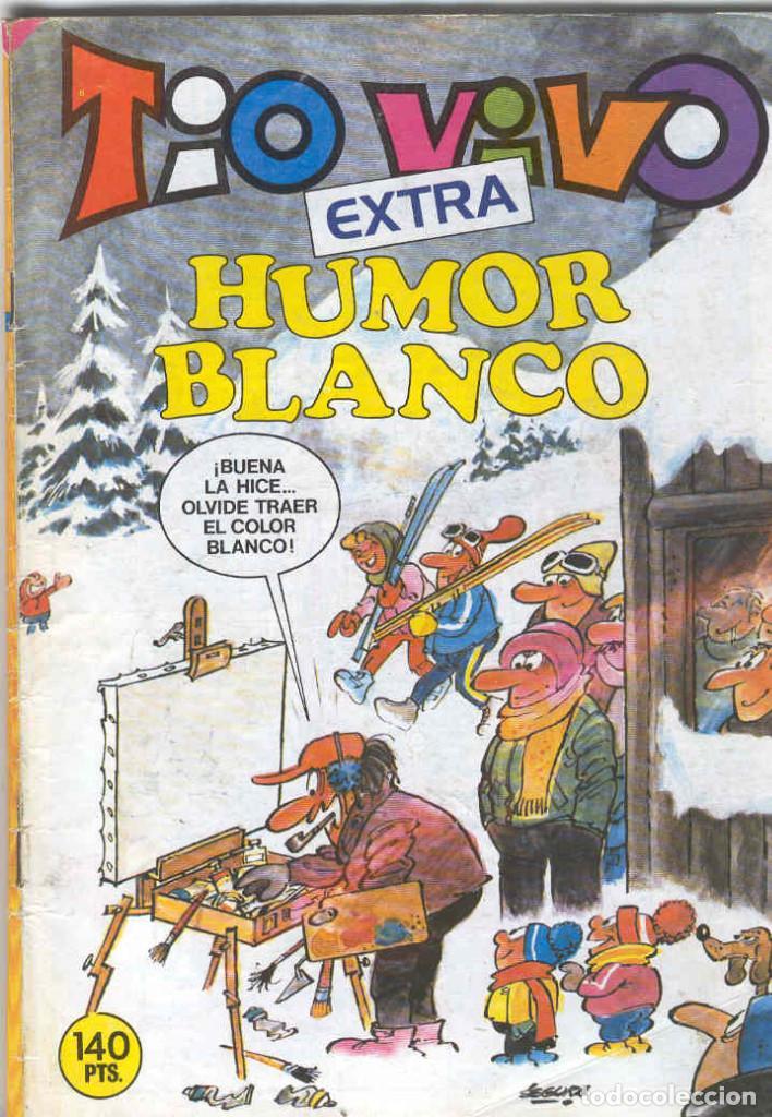TIO VIVO EXTRA HUMOR BLANCO (Tebeos y Comics - Bruguera - Tio Vivo)