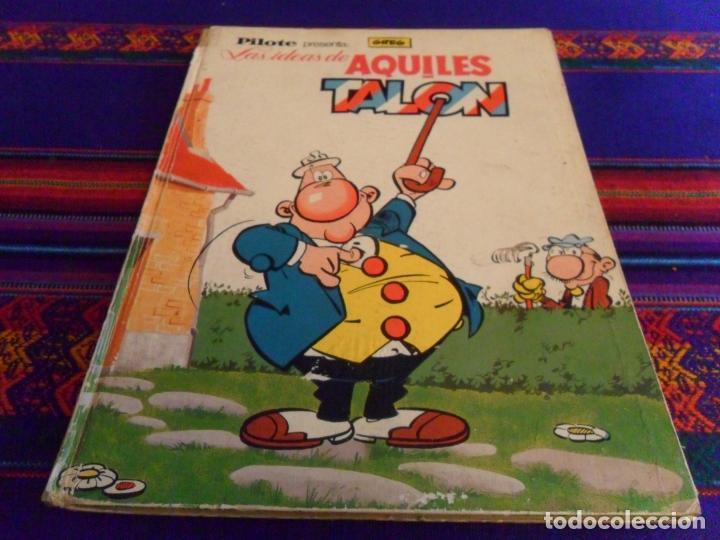 PILOTE LAS IDEAS DE AQUILES TALON. BRUGUERA 1968. REGALO LUCKY LUKE WESTERN CIRCUS., usado segunda mano