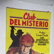 Tebeos: CLUB DEL MISTERIO – ARTHUR CONAN DOYLE – LAS AVENTURAS DE SHERLOCK HOLMES – BRUGUERA Nº 2. Lote 89690568