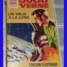 Tebeos: UN VIAJE A LA LUNA JULIO VERNE BRUGUERA COL. HISTORIAS SELECCIÓN ILUSTRADO . Lote 89692204