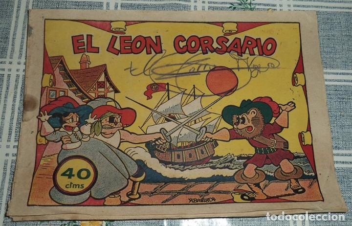 EL LEON CORSARIO ED. BRUGUERA 40 CENTIMOS ORIGINAL DE ÉPOCA (Tebeos y Comics - Bruguera - Cuadernillos Varios)