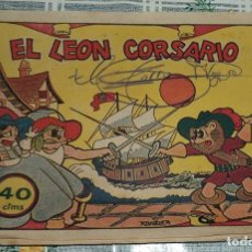 Tebeos: EL LEON CORSARIO ED. BRUGUERA 40 CENTIMOS ORIGINAL DE ÉPOCA . Lote 89695444