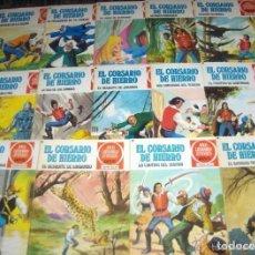 BDs: CORSARIO HIERRO 14 17 25 31 34 36 37 38 40 47 48. BRUGUERA 1978. BE. TAMBIÉN SUELTOS.. Lote 44820388