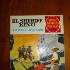 Tebeos: EL SHERIFF KING : LA HISTORIA DE GRECKO STORM. [GRANDES AVENTURAS JUVENILES ; 20]. Lote 89809620