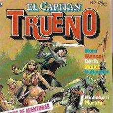 Tebeos: EL CAPITAN TRUENO. Nº 2. AÑO I. 1º EPOCA. MARZO 1986.. Lote 89932736