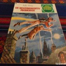 BDs: JOYAS LITERARIAS JUVENILES Nº 194 UN DESCUBRIMIENTO PRODIGIOSO. BRUGUERA 1ª ED 1978. MBE.. Lote 89997788