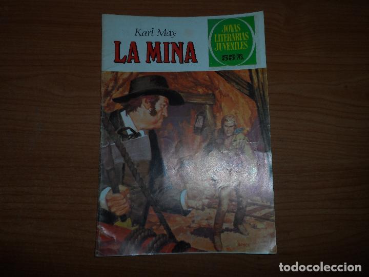 JOYAS LITERARIAS JUVENILES Nº 248 LA MINA KARL MAY BRUGUERA 1ª EDICION 1982. (Tebeos y Comics - Bruguera - Joyas Literarias)