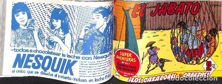 Tebeos: EL JABATO TOMO VIII - CUADERNILLOS DEL NUMERO 277 AL 312 - Foto 3 - 90064420
