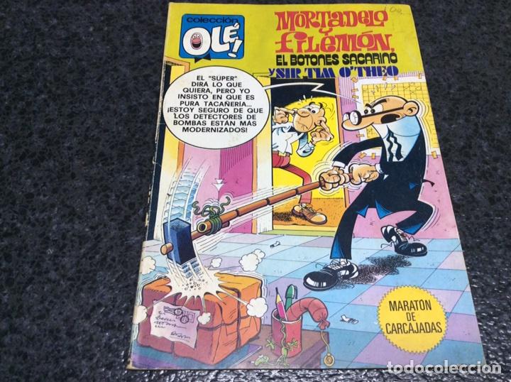 MORTADELO Y FILEMÓN, COLECCION OLE Nº 186 - 1ª EDICION 1979 -BRUGUERA (Tebeos y Comics - Bruguera - Ole)