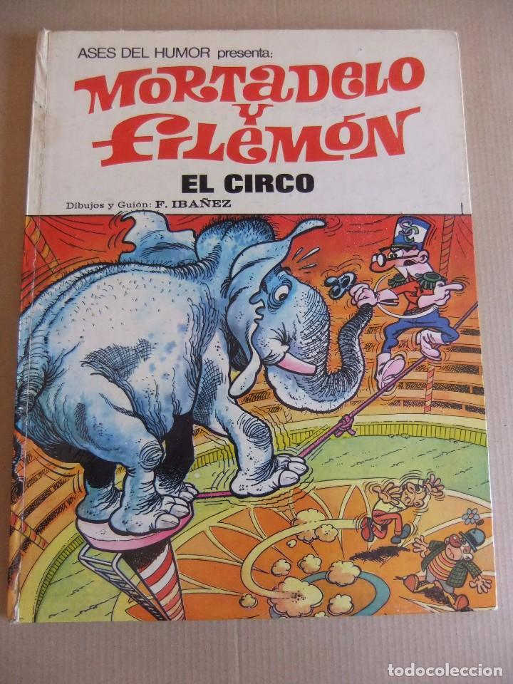 ASES DEL HUMOR Nº 27 MORTADELO Y FILEMON EL CIRCO (Tebeos y Comics - Bruguera - Mortadelo)