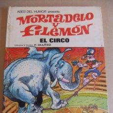 Tebeos: ASES DEL HUMOR Nº 27 MORTADELO Y FILEMON EL CIRCO. Lote 90208268