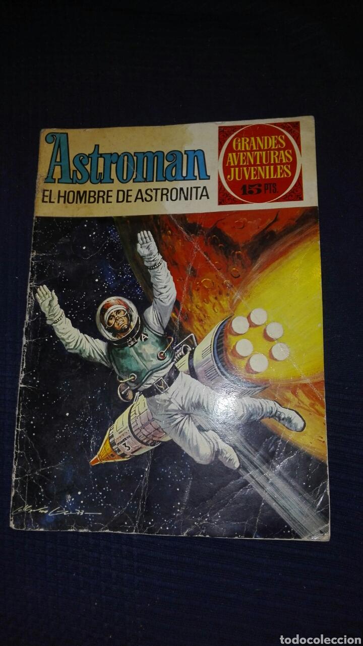 ASTROMAN N° 54 EL HOMBRE ASTRONITA 1973 BRUGUERA (Tebeos y Comics - Bruguera - Cuadernillos Varios)