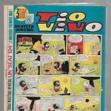 Tebeos: TEBEO TIO VIVO. REVISTA JUVENIL. AÑO XIII. Nº 494. HUG EL TROGLODITA. Lote 90262724