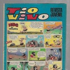 Tebeos: TEBEO TIO VIVO. REVISTA JUVENIL. AÑO XIII. Nº 465. HUG EL TROGLODITA. Lote 90264120