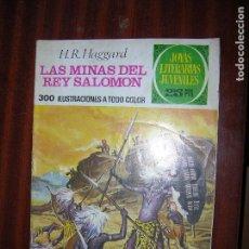 Tebeos: (F1) JOYAS LITERARIAS LAS MINAS DEL REY SALOMON Nº 156 AÑO 1976 1ª EDICIÓN. Lote 90266468