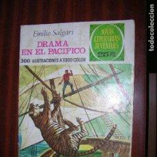 Tebeos: (F1) JOYAS LITERARIAS DRAMA EN EL PACIFICO Nº162 AÑO 1976 1ª EDICIÓN. Lote 90275472