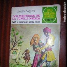 Tebeos: (F1) JOYAS LITERARIAS LOS MISTERIOS DE LA JUNGLA NEGRANº 149 AÑO 1975 1ª EDICIÓN. Lote 90323120