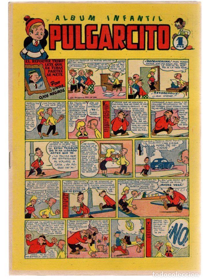 ALBUM INFANTIL PULGARCITO. Nº 20. EL REPORTER TRIBULETE QUE EN TODAS PARTES SE METE. ORIGINAL (Tebeos y Comics - Bruguera - Pulgarcito)