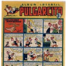 Tebeos: ALBUM INFANTIL PULGARCITO. Nº 42. HELIODORO HIPOTENUSO COMPRA UN BISTEC. ORIGINAL. AÑOS 40. Lote 90343012